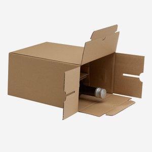 Verpackungskarton für 6 Flaschen Gou-506