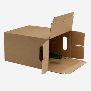 Verpackungskarton für 6 x 1,0l Flasche