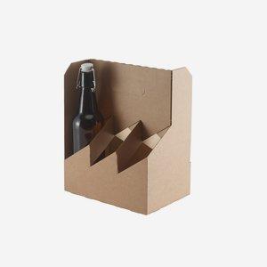 Flaschenträger Karton für 6 x BBF-337/500/507