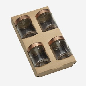 Wendeeinlage für 4 x Fac-154, für Kartonserie K100