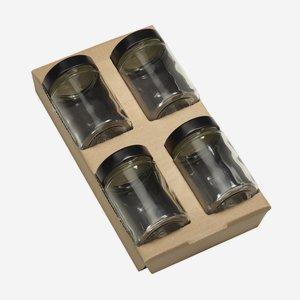 Wendeeinlage für 4 x Fac-192, für Kartonserie K100
