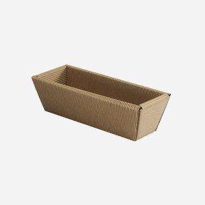 Geschenkkarton, braun, lang, L21 x B5 x H7