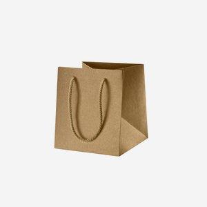 Geschenktragetasche, braun, 160/160/180
