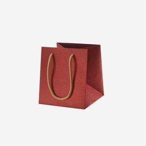 Geschenktragetasche, rot, 160/160/180