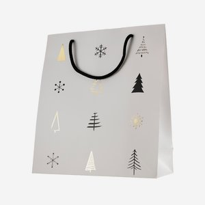 Geschenktragetaschen, Weihnachten, 320/130/360