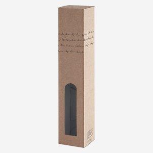 Geschenkkarton Lyrik, 1 x 0,5l Schnapsflasche