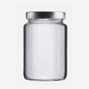 NORA Schraubglas 785ml, Weißglas, Mdg.: TO82De