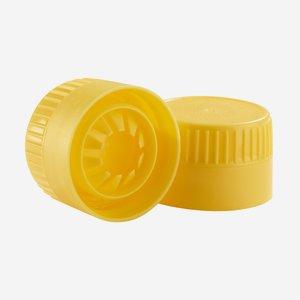 Ricalverschluß, gelb