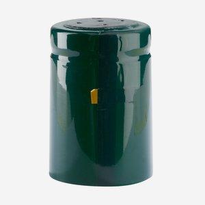Schrumpfhülse ø32,8 x H50mm, dunkelgrün glänzend