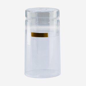 Schrumpfhülse ø31 x H60mm, transparent