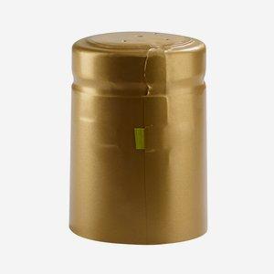 Schrumpfhülse ø32,8 x H50mm, gold matt