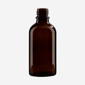 Tropfflaschen aus Braunglas, 50ml, Mdg.: gl-18