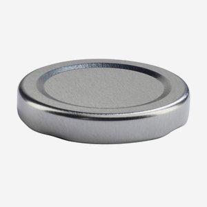 TWIST-OFF DECKEL PVC-frei, ø48mm, silber