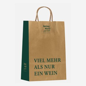 """Tragetasche """"Steirischer Wein"""" H400 x B320 x T120m"""