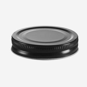 TWISTER DECKEL, ø70mm, schwarz
