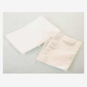 Structured vacuum bag 90µ, PA/PE-side sealed bags
