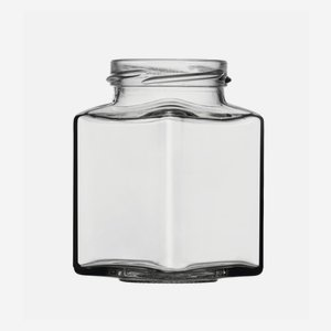 Vierkantglas 212ml, Weißglas, Mdg.: TO53