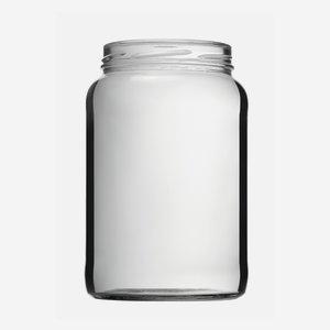 Schraubglas 1700ml, Weißglas, Mdg.: TO100