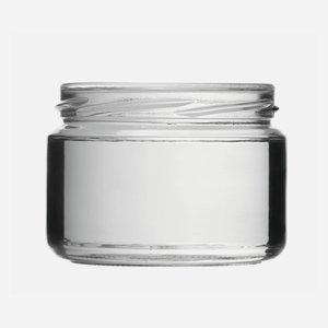 Schraubglas 282ml, Weißglas, Mdg.: TO82