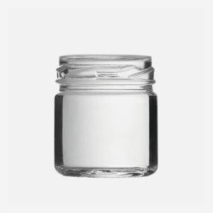 Schraubglas 41ml, Weißglas, Mdg.: TO43