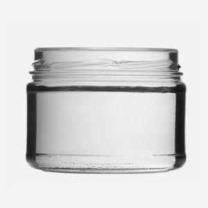 Schraubglas 540ml, Weißglas, Mdg.: TO100