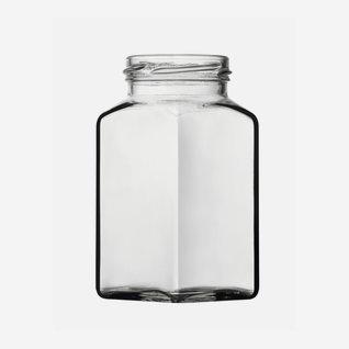 Vierkantglas 312ml, Weißglas, Mdg.: TO58