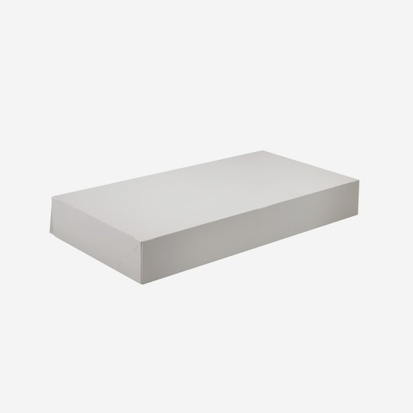 Brötchenkarton weiß, L470 x B250 x H70mm