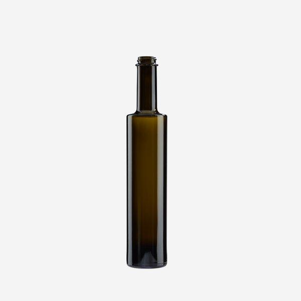 Bega Flasche 350ml, Antikglas, Mdg.: GPI 28
