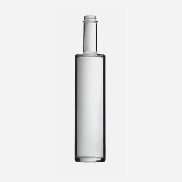 Bega Flasche 500ml, Weißglas, Mdg.: GPI 28