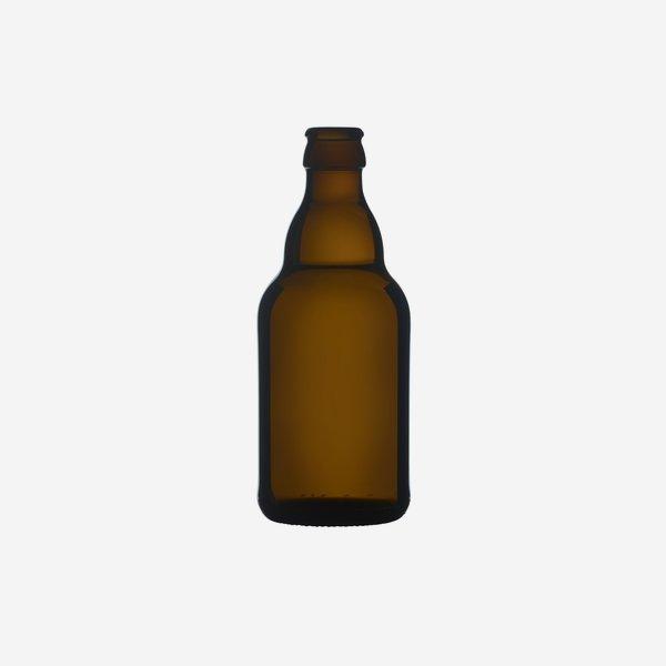 Bierflasche braun, 330 ml, Mdg.: CC