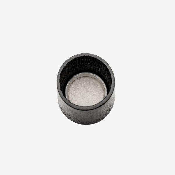 Holz-Alu-Schraubverschluss GPI 28 exklusiv,schwarz