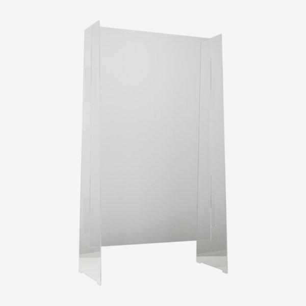 Transparenter Spuckschutz, B 60cm x H 110cm