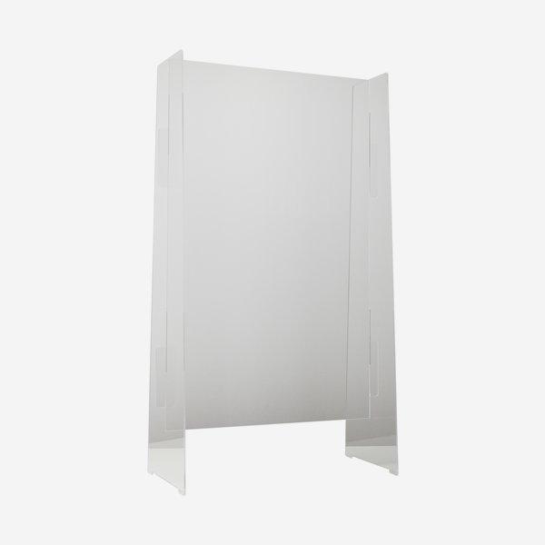 Transparenter Spuckschutz, 120cm x H 110cm