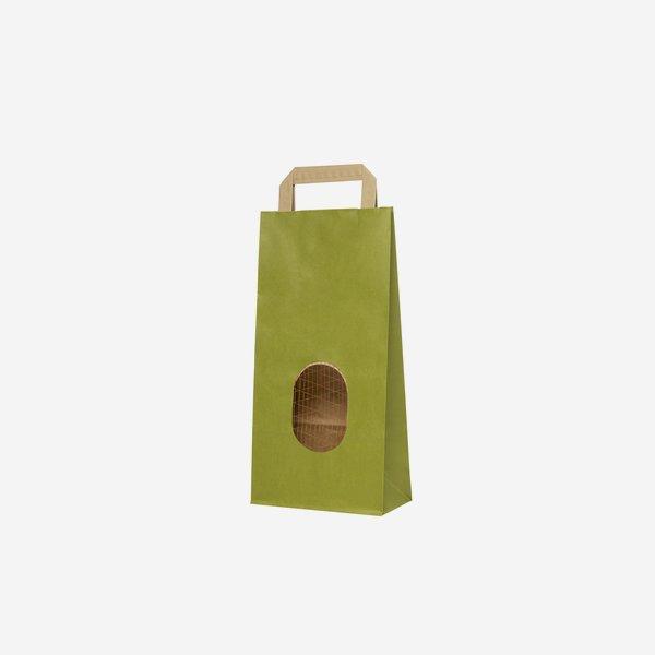Kartoffel-Tragetasche 2kg, hellgrün, 170/95/345