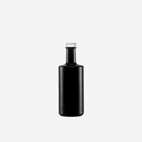 Viva Flasche 100ml, schwarz beschichtet, GPI 22