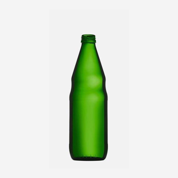 Ölflasche 500ml, Grünglas, Mdg.: MCA28