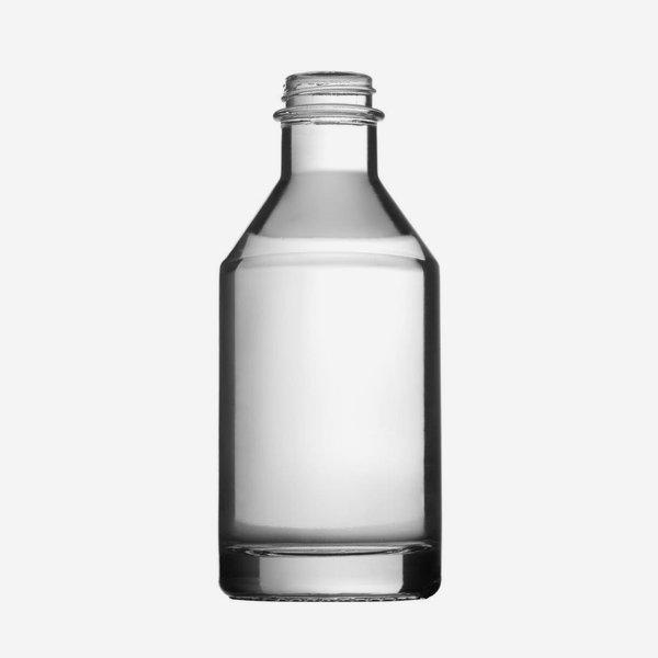 DESTILLATA Flasche 200ml, Weißglas, Mdg.: GPI 28
