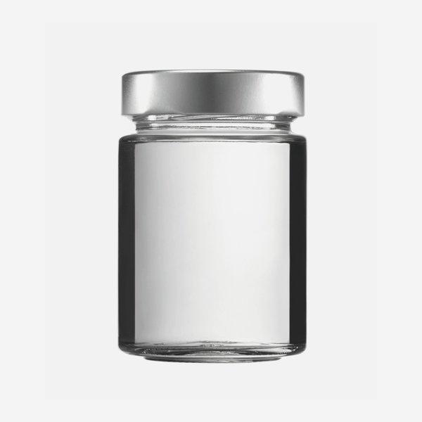 FACTUM Schraubglas 192ml, Weißglas, Mdg.: TO58De