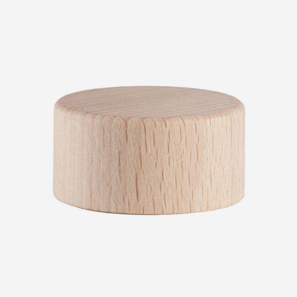 Holz-Alu-Schraubverschluss GPI 28, natur