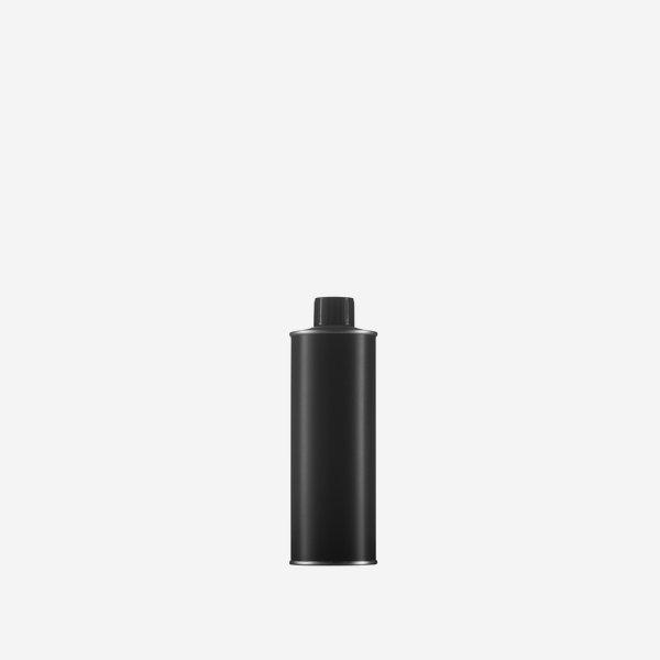 Öldose 250ml, schwarz-matt, Mdg.: ø24mm