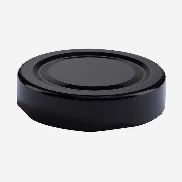 TWIST-OFF DECKEL PVC-frei, ø58mm, DE, schwarz