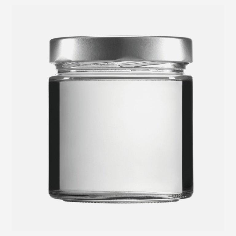 FACTUM Schraubglas 410ml, Weißglas, Mdg.: TO82De